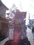 岸和田だんじり祭、始まります@岸和田