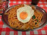 ナポリタン大盛「スパゲティーのパンチョ」@神田