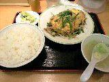 ニラ玉定食「ジロー's テーブル」@志村三丁目