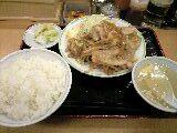 しょうが焼き定食「ジロー'sテーブル」@志村三丁目