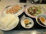 ホイコーロー定食「餃子の王将」@瑞江